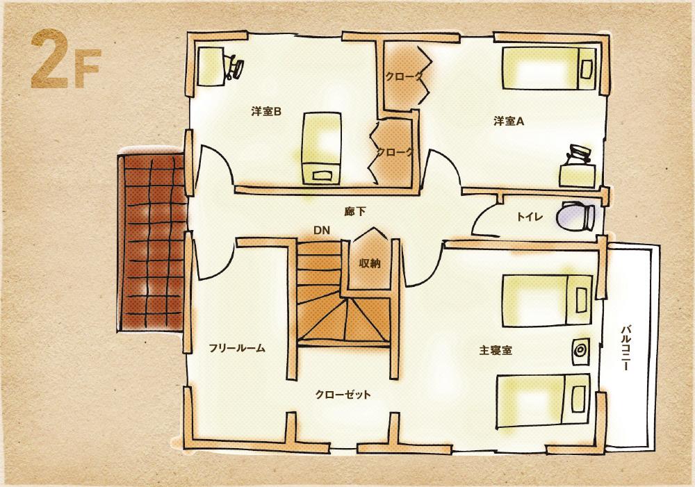 和室ありプラン2F